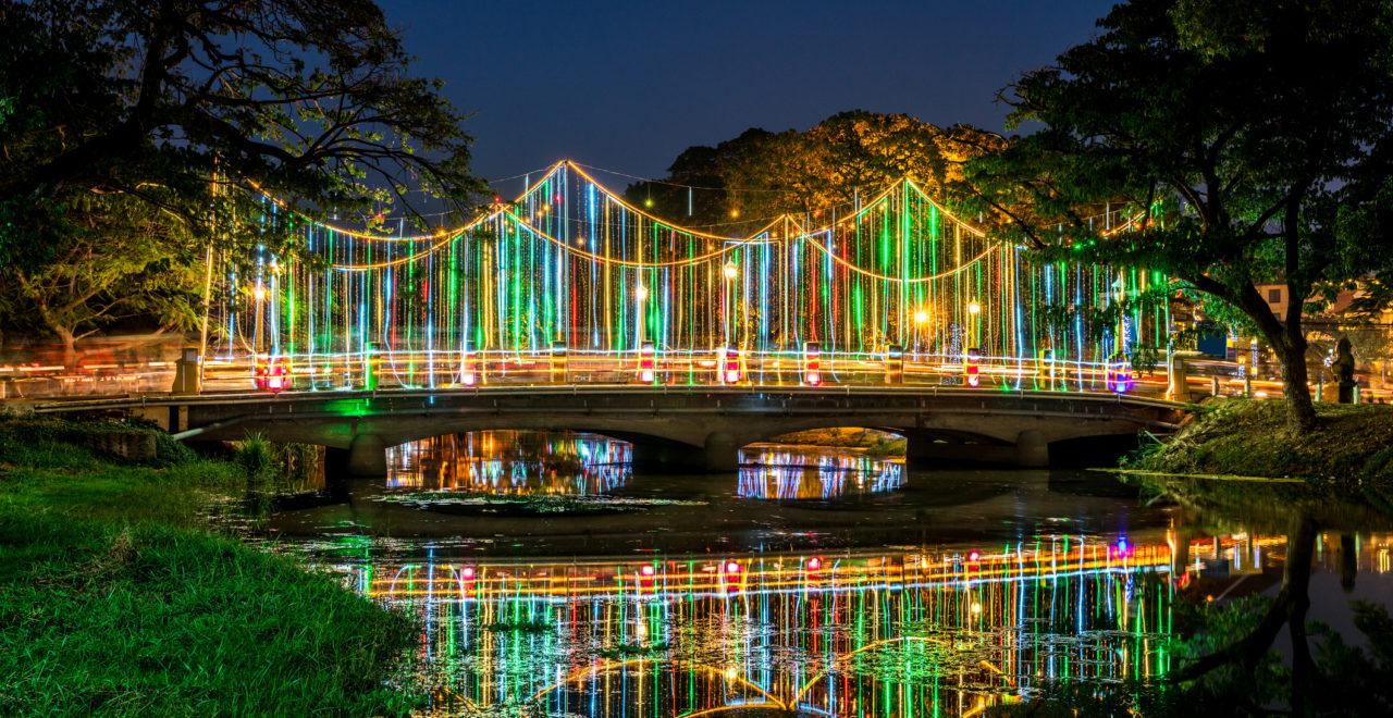 Siem Reap River bro Kambodsja