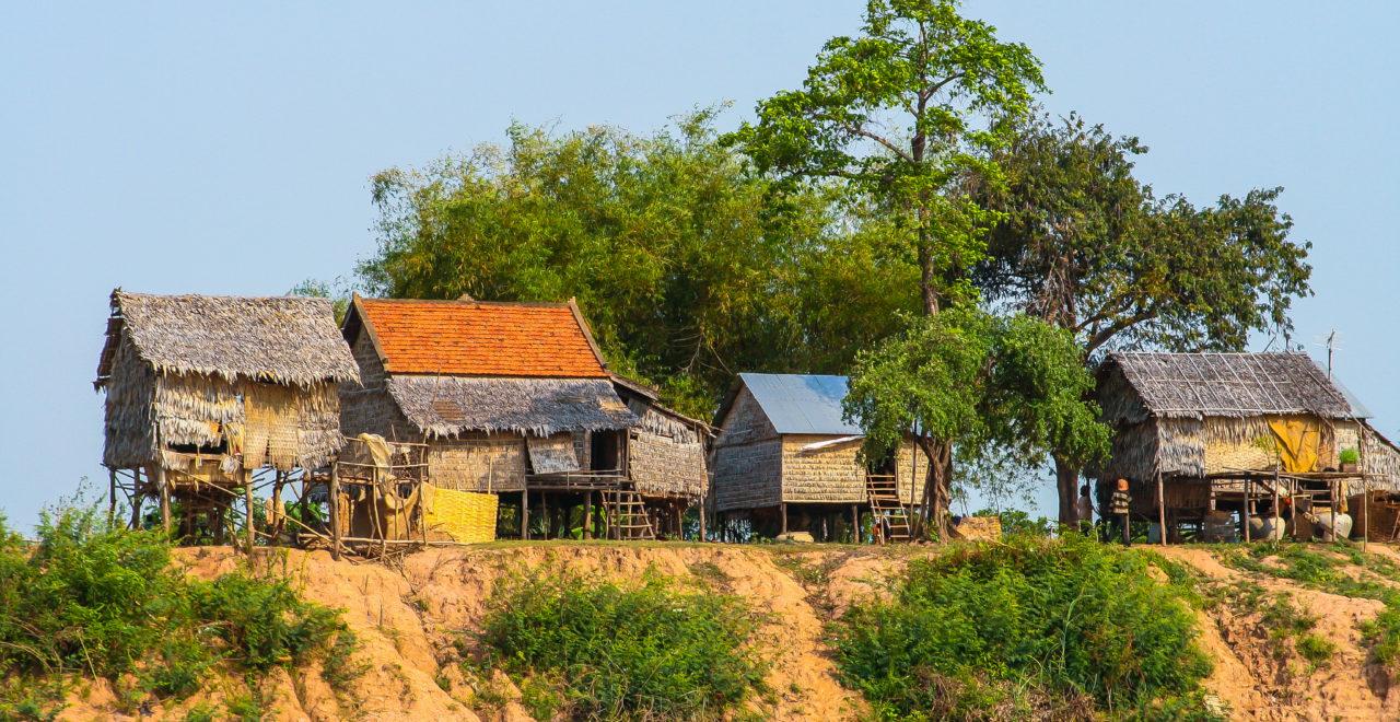 Kambodsja, elvebåt, elv, Phenom Penh til Siam Reap
