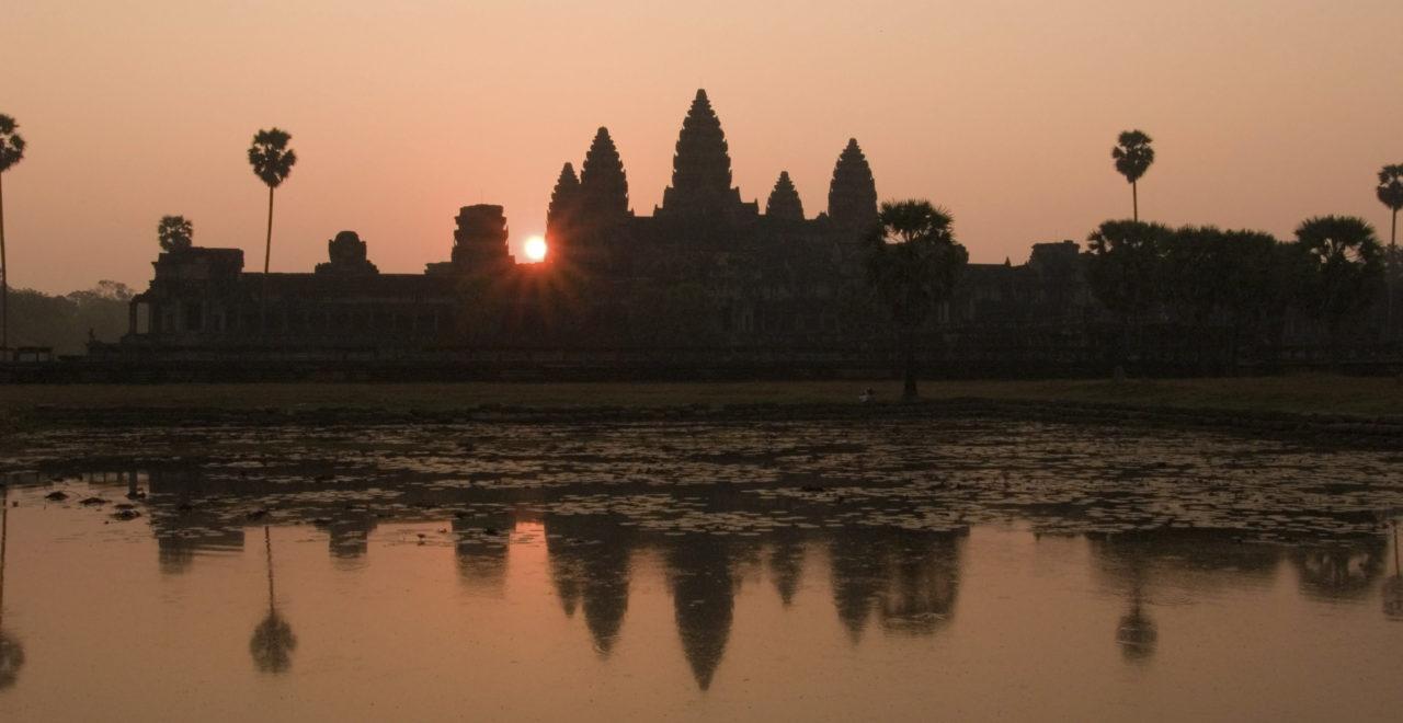 Bayon tempel, Kambodsja, Angkor Wat, Siem Reap