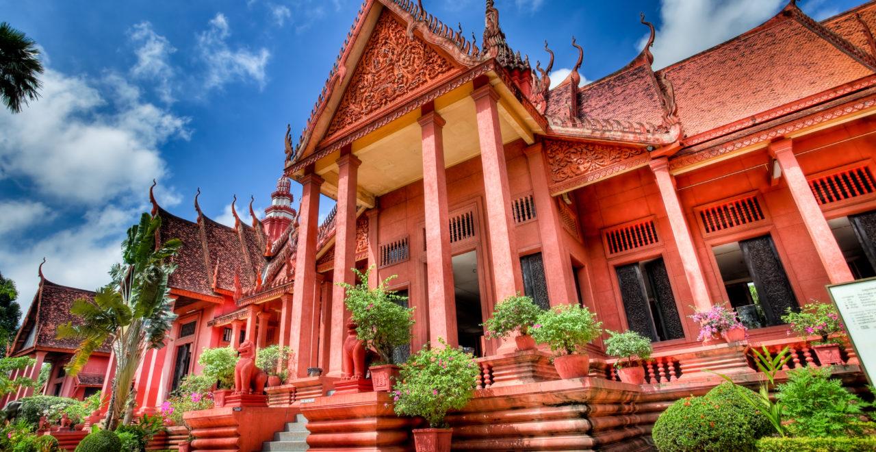 National Museum, Phnom Penh, Kambodsja