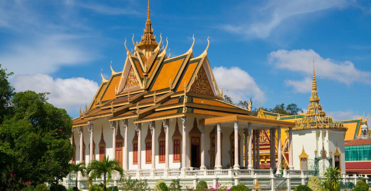 Royal Palace, Phnom Penh, Kambodsja