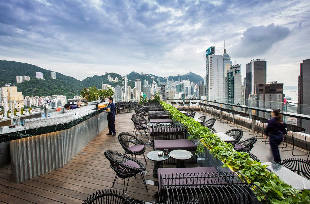 Alto, restaurant, rooftop, Hong Kong, Kina