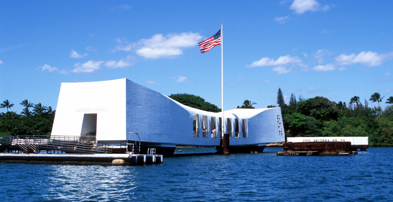 Arizona Memorial Pearl Harbor Hawaii, USA, Oahu