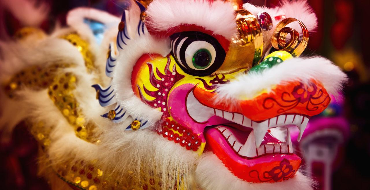 Kinesisk drage, Kina, Hong Kong