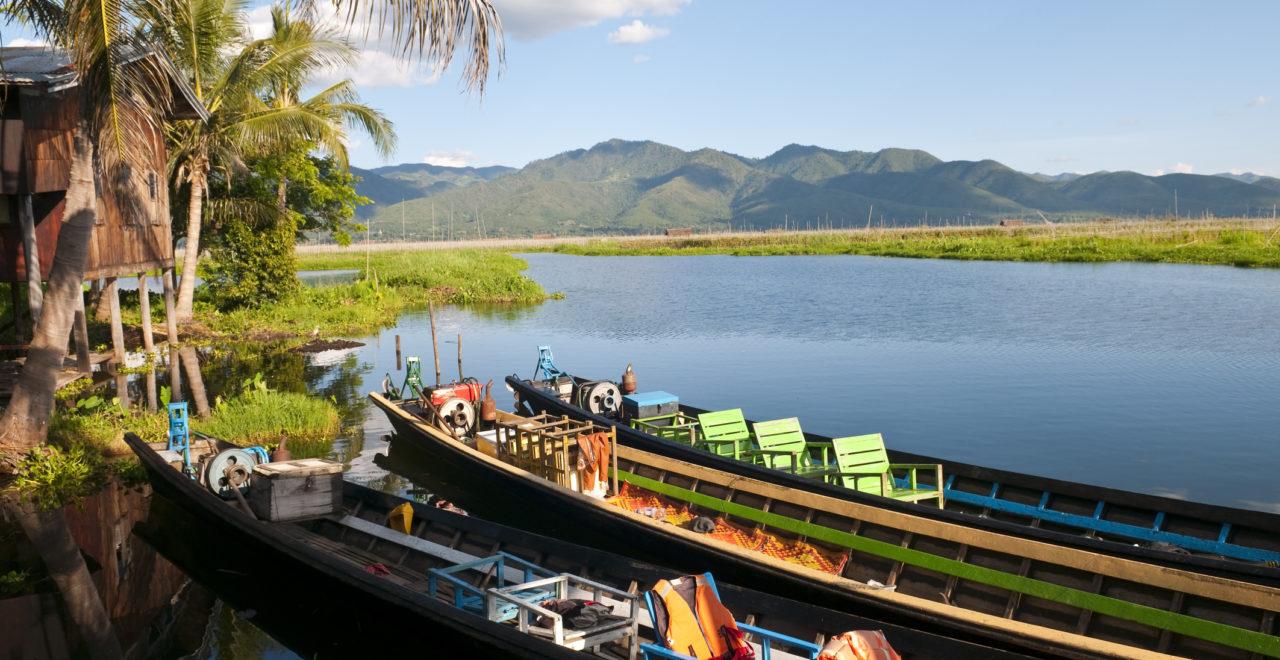 Burma, Myanmar, Inle Lake, Inlesjøen