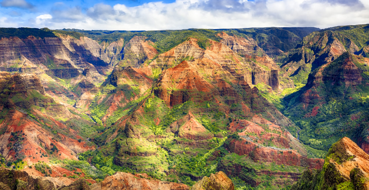Waimea Canyon, Kauai, USA, Hawaii