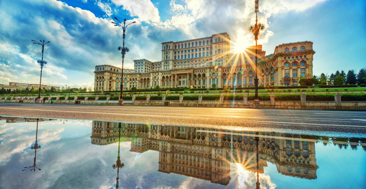 Romania, Bucuresti, Parliament Palace