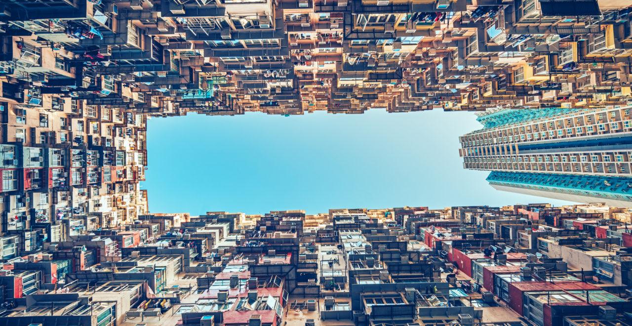 apartment buildings in Hong Kong, Kina