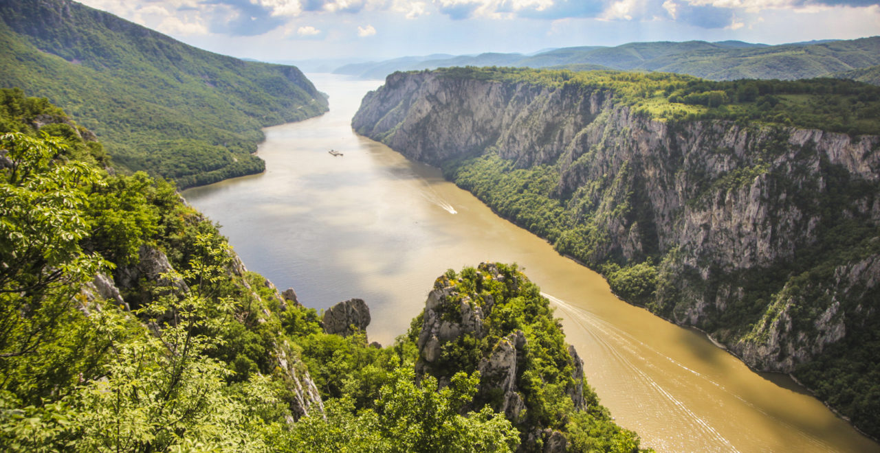 Jernporten, Romania, Donau