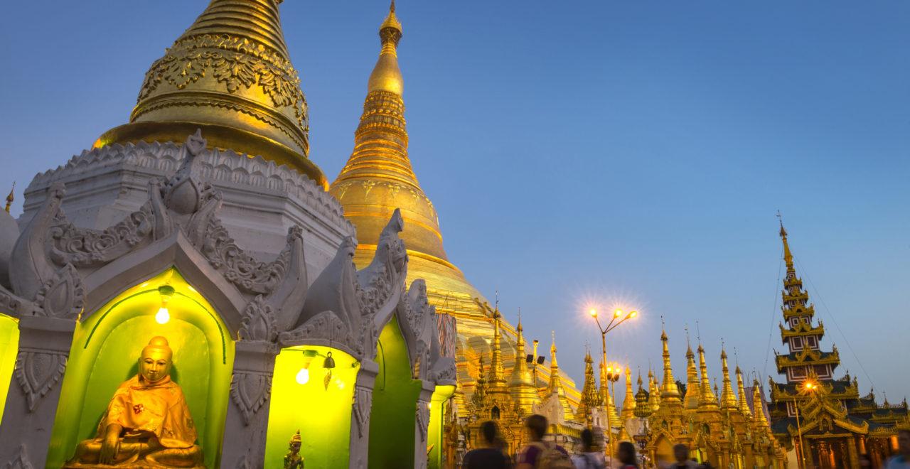 Yangon, Shwedagon, Burma, Myanmar