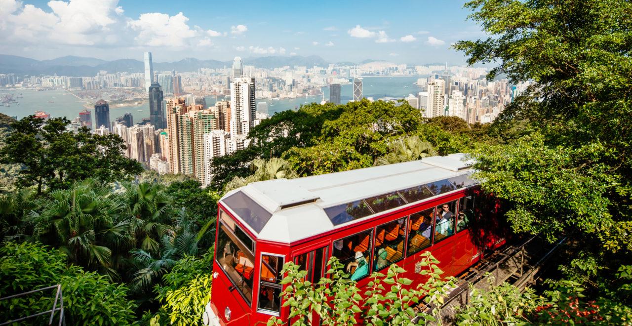 Peak Tram Hong Kong, Kina