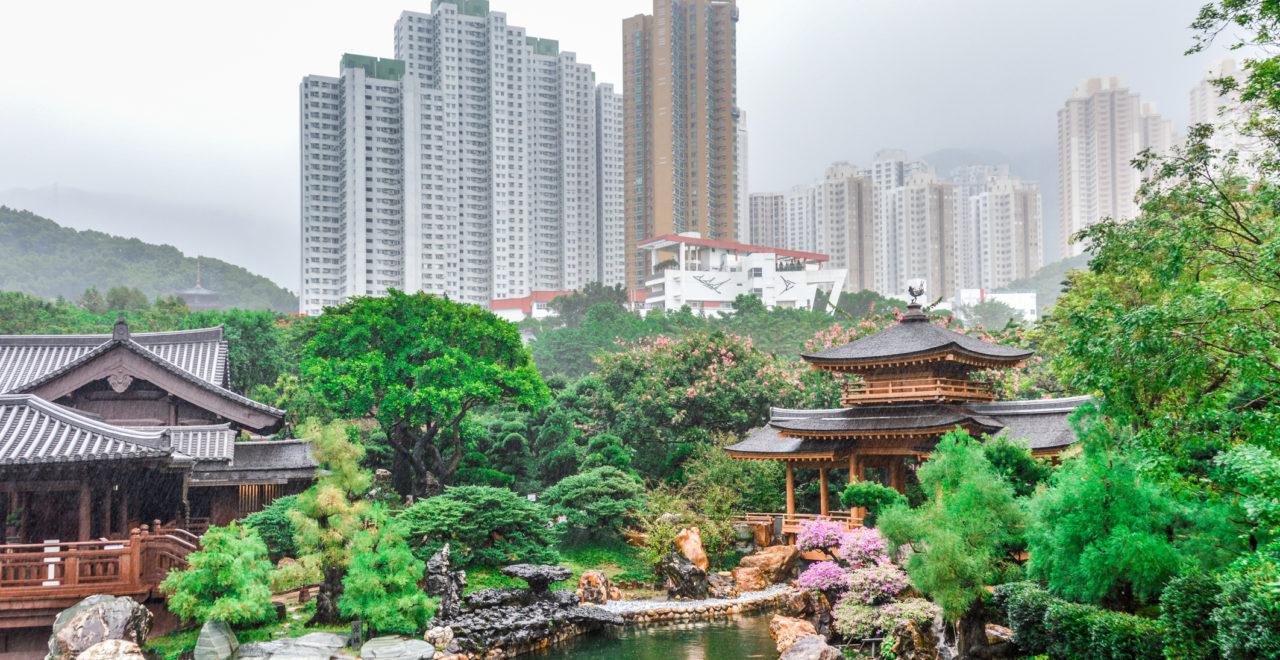 Nan Lian Garden in Hong Kon, Kina
