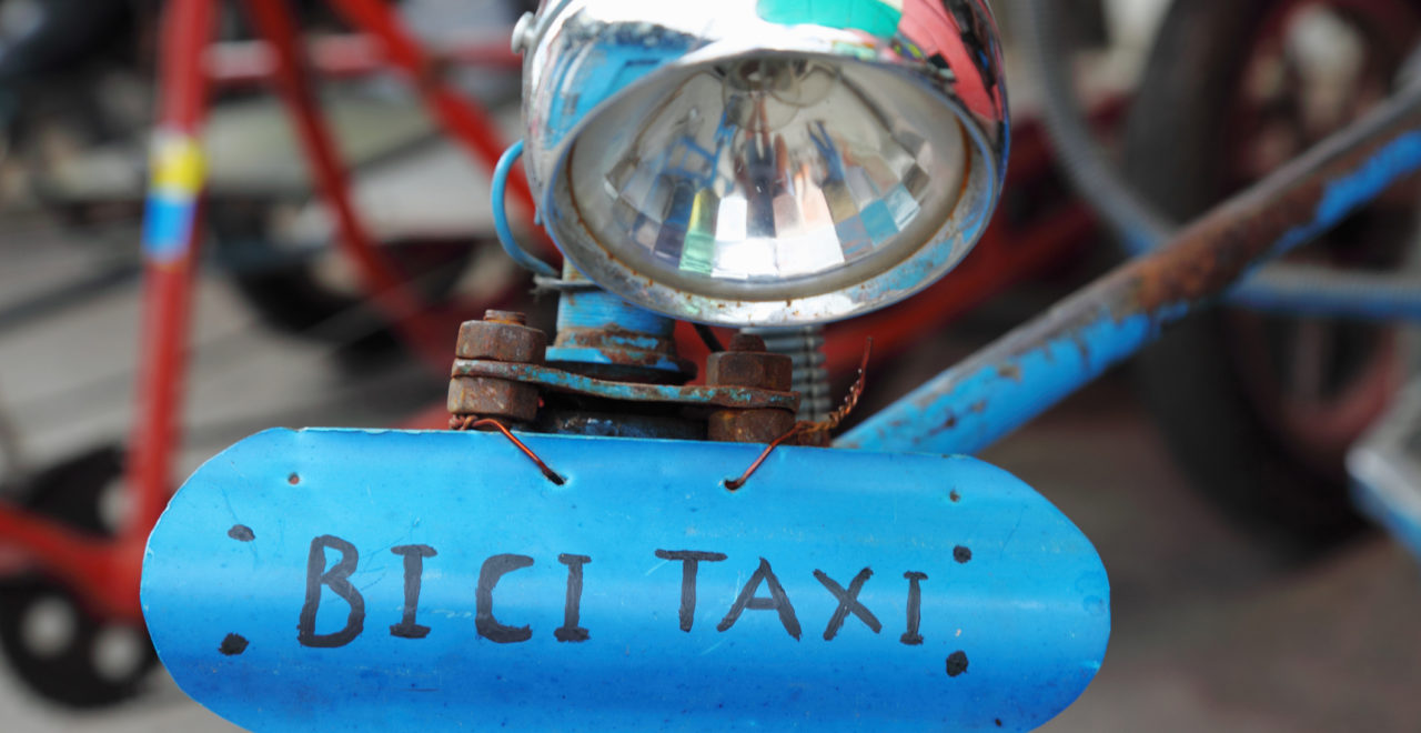 Bici Taxi, Cuba, Camaguey