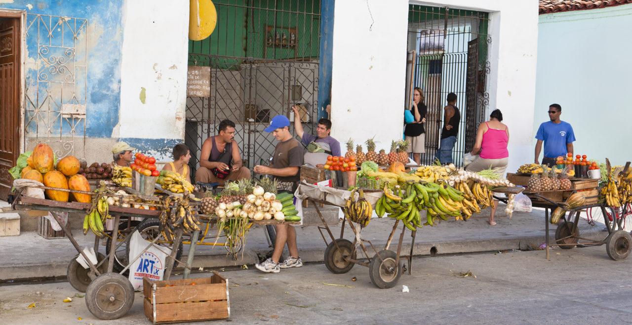 Camaguey, Cuba, marked