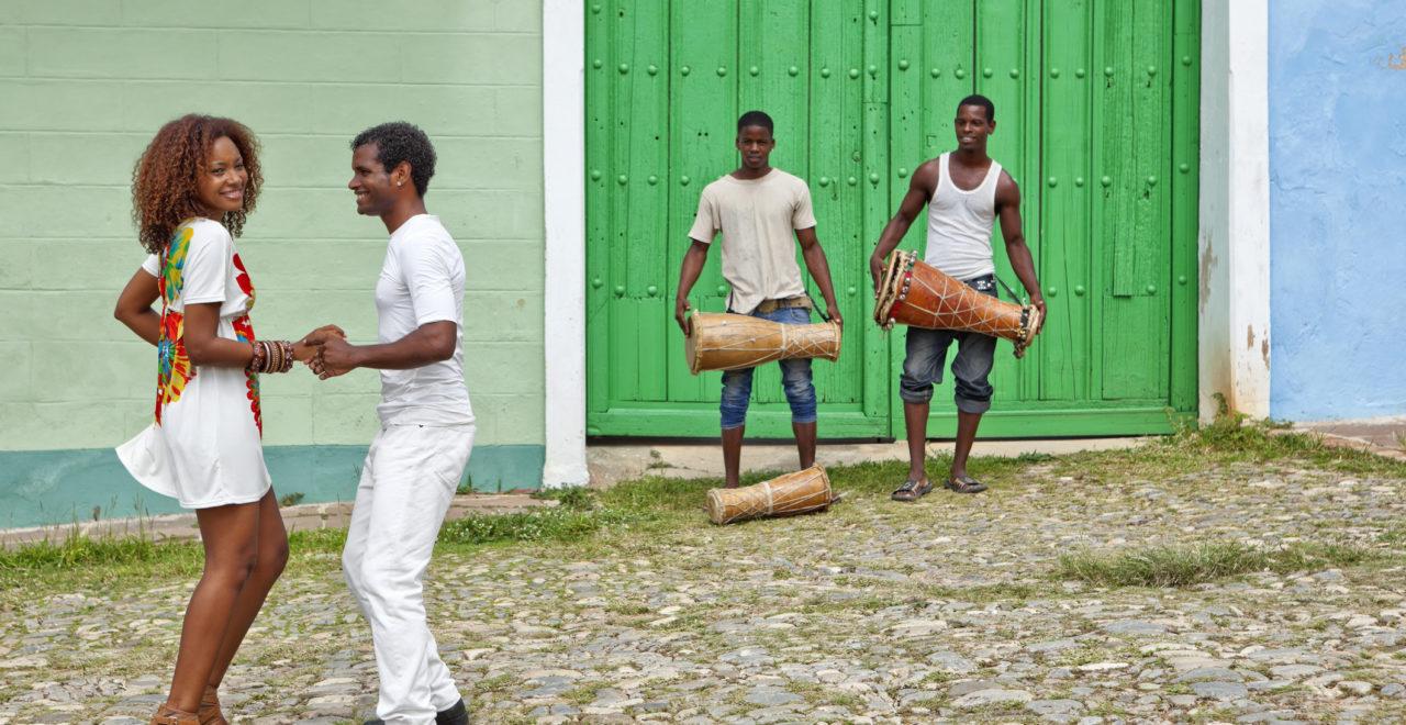 Cuba, Trinidad, salsa