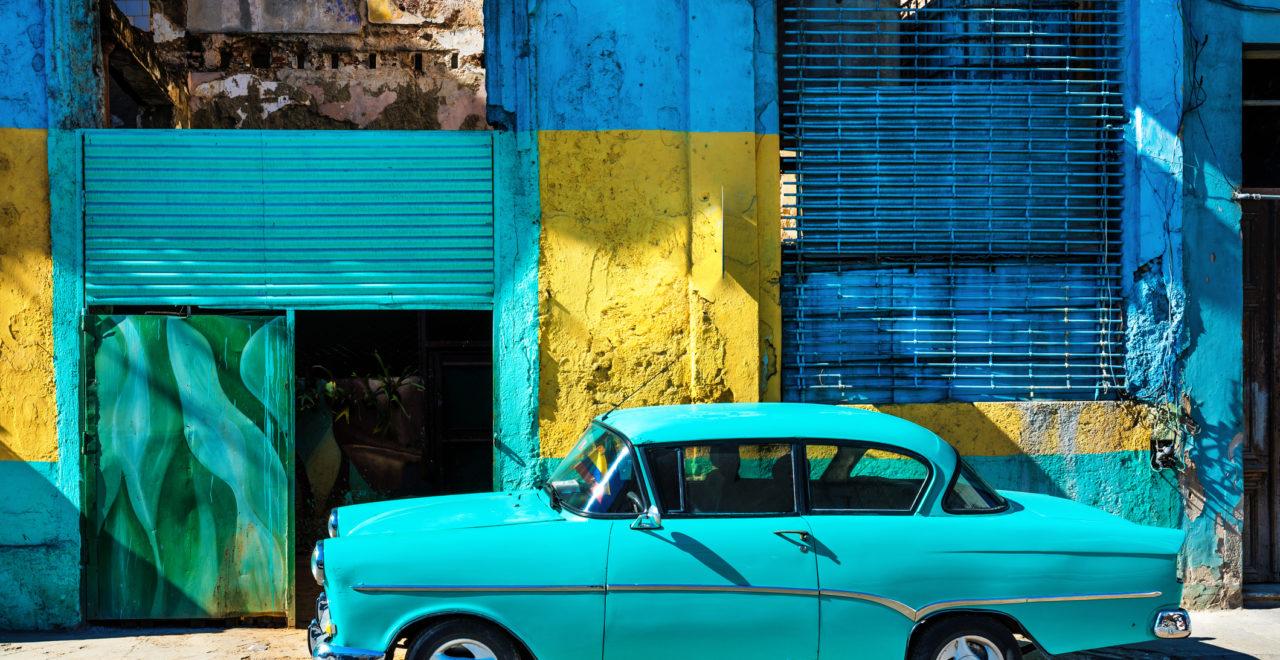 Cuba, Havanna, bil