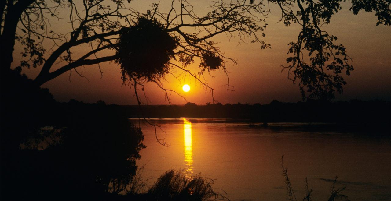 Zambezi, River, Zambia, Zimbabezi