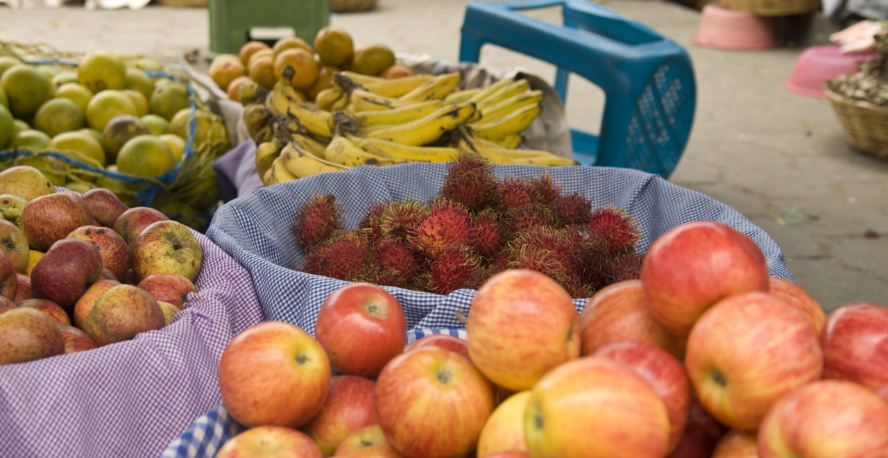 Guatemala, frukt, mat