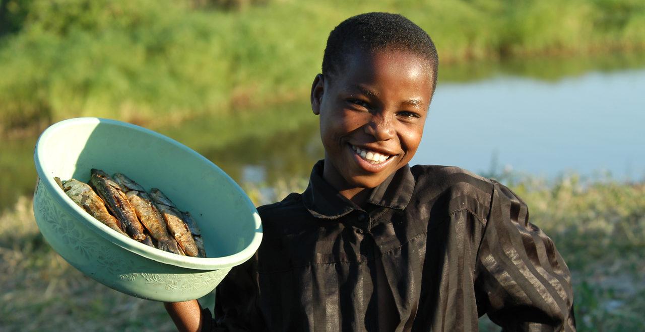 Malawi, gutt, fisk