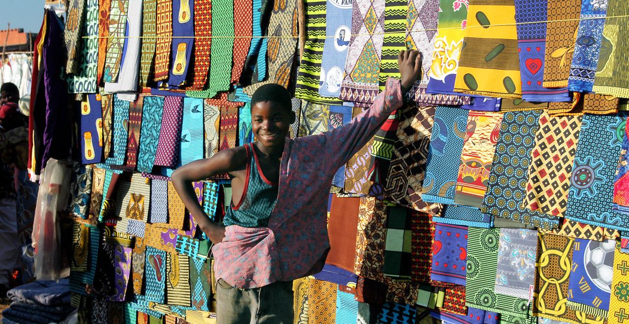 Malawi, gutt, marked