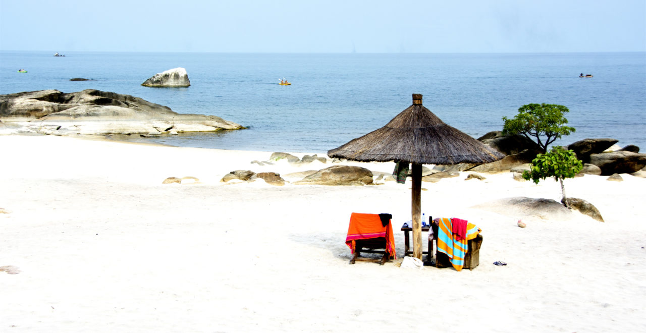 Lake Malawi, strand