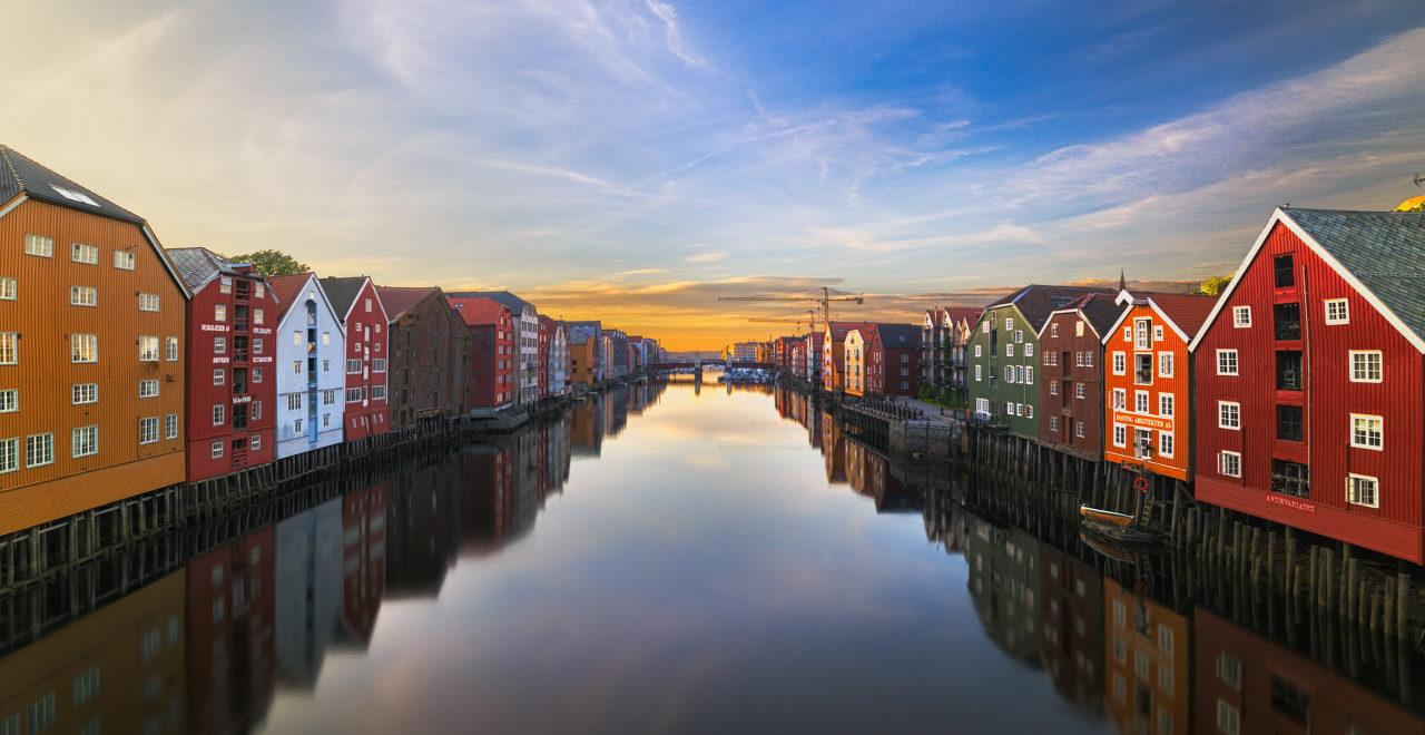 Bakklandet, Trondheim, Norge