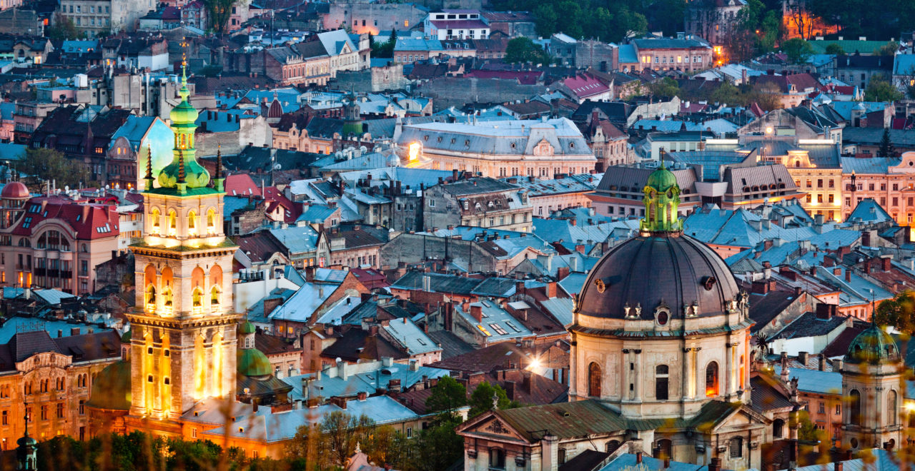 Ukraina, Castle Hill, Lviv