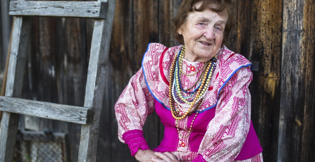 Ukraina, kvinne, dame, tradisjon, landsbygd