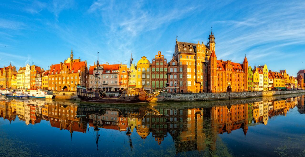 Polen, Gdansk, gamlebyen