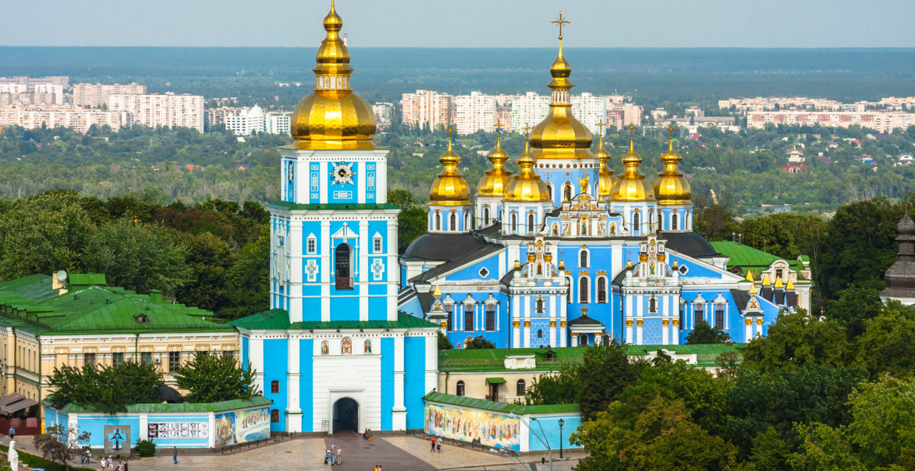 Ukraina, Kiev, St. Michael's Golden-Domed Monastery