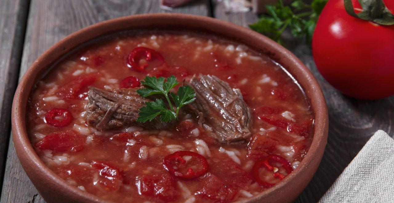 Georgia, mat, suppe Kharcho
