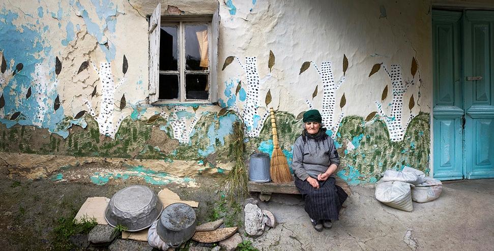Georgia, kvinne, Juta, landsby, foto_Gia Chkhatarashvili