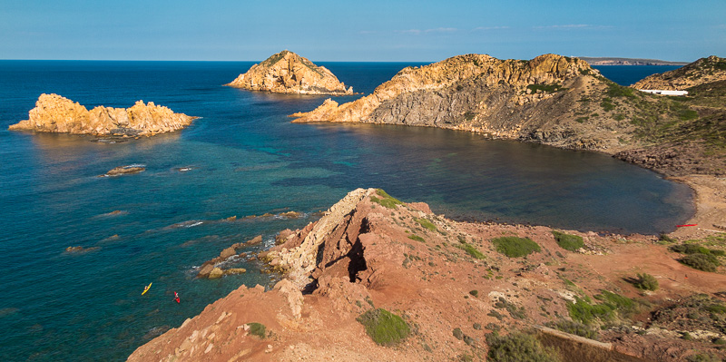 Kajakk Costa Brava Catalonia Spani Illes Bledes i Cala Barril