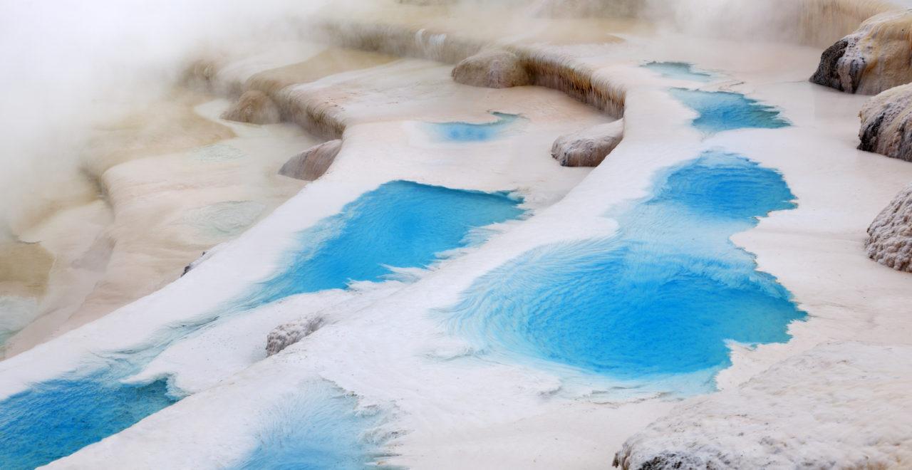 Termalbad, basseng, Rotorua, New Zealand