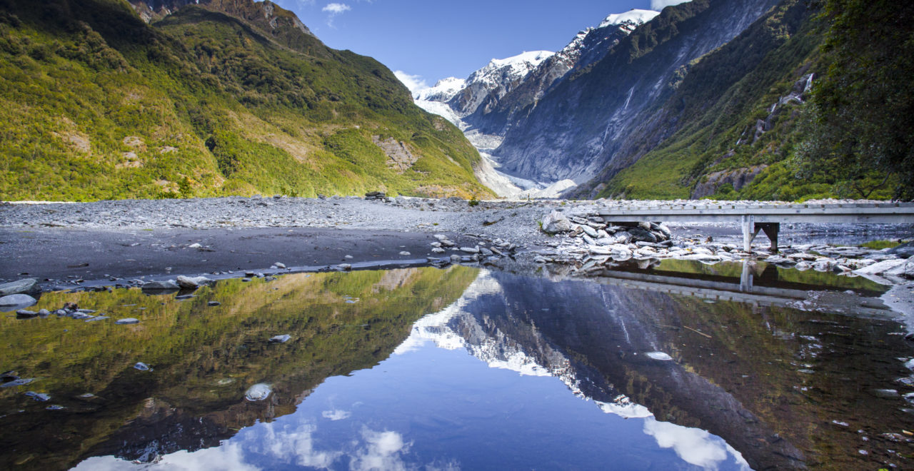 Franz Josef Glacier Valley, isbre, New Zealand