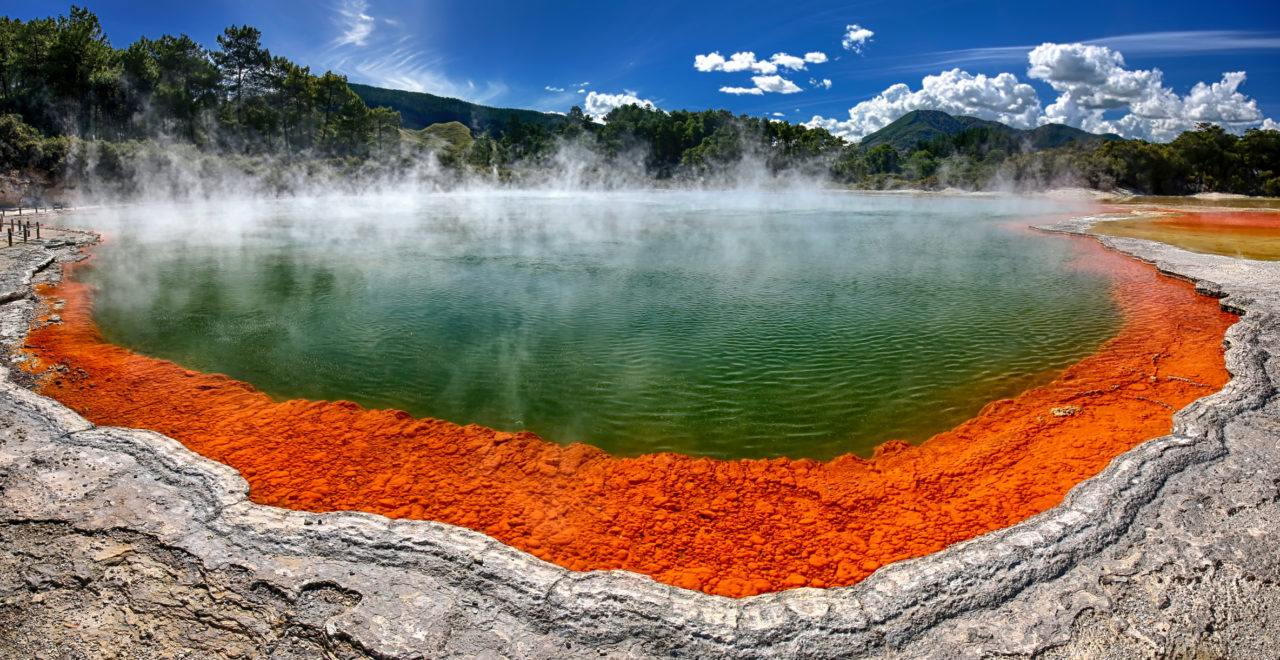 Champagne Pool, Wai-O-Tapu, Rotorua, New Zealand