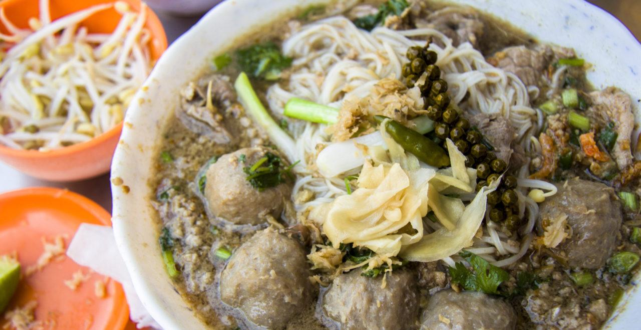 Phnom Penh ris nudler