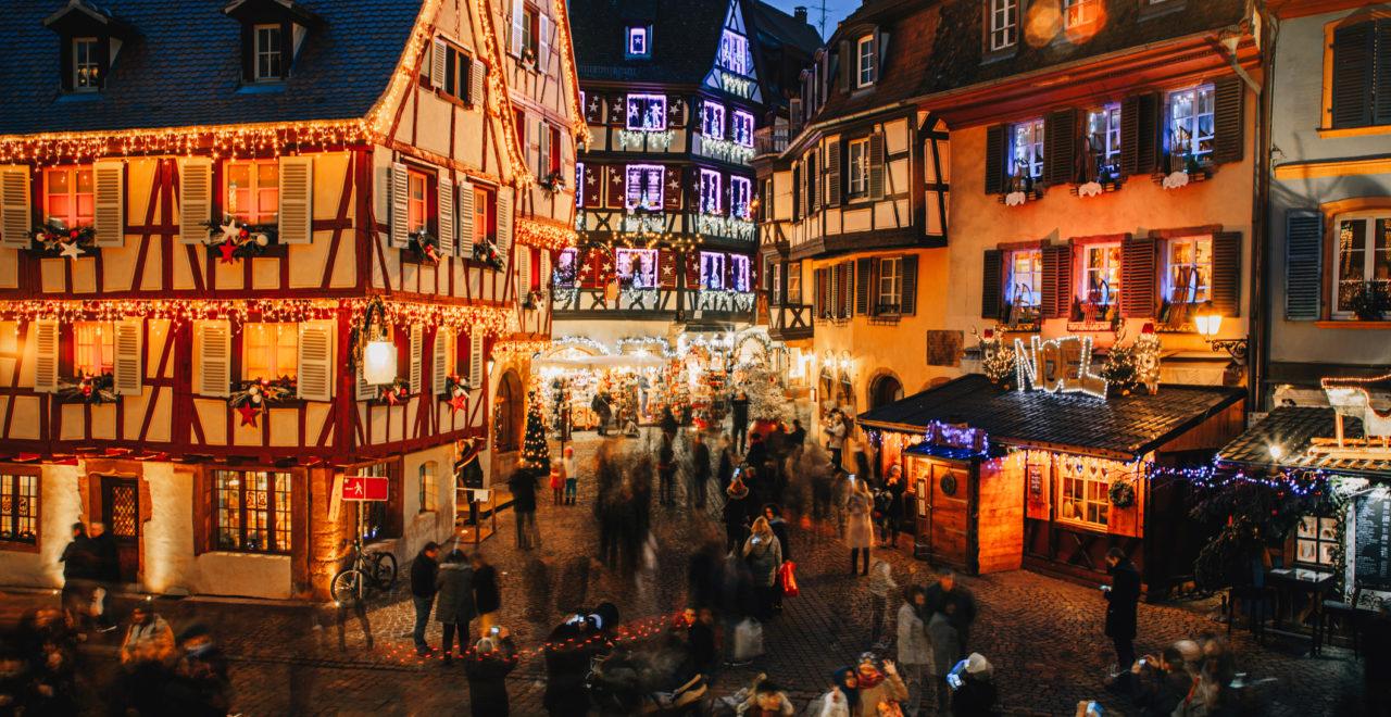 Julemarkedscruise Rhinen Fra Strasbourg