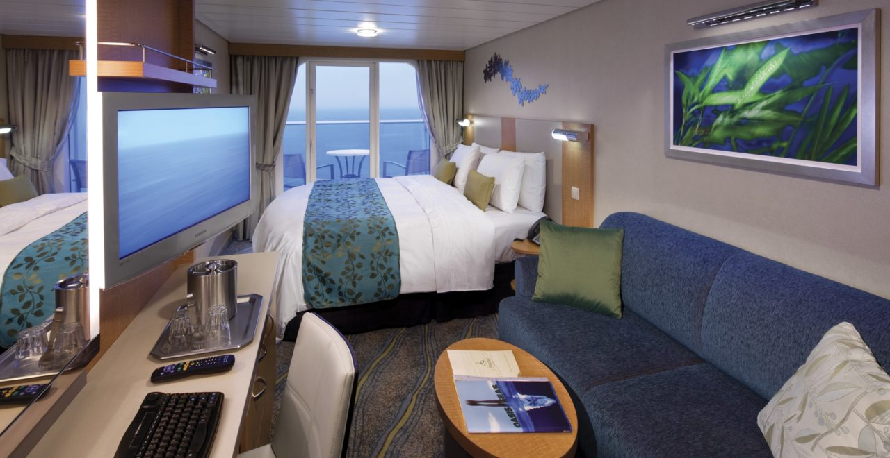 Superior Oceanview Stateroom with Balcony Cat. D